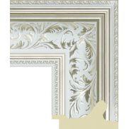 Зеркало в белой багетной раме 180 х 80 см